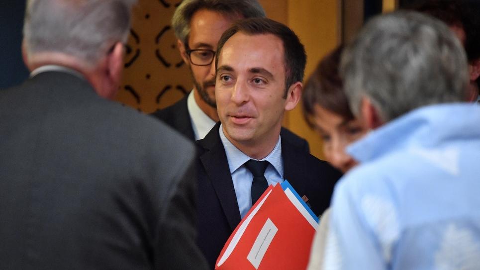 Jean-Marie Girier, chef de cabinet de Gérard Collomb, photo du 30 juillet 2018