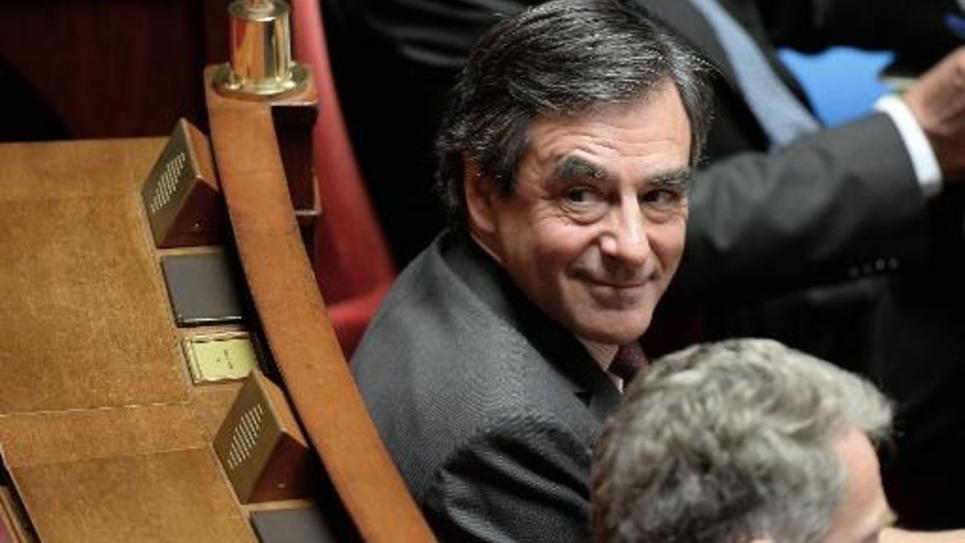 François Fillon le 27 mai 2014 à l'Assemblée nationale à Paris