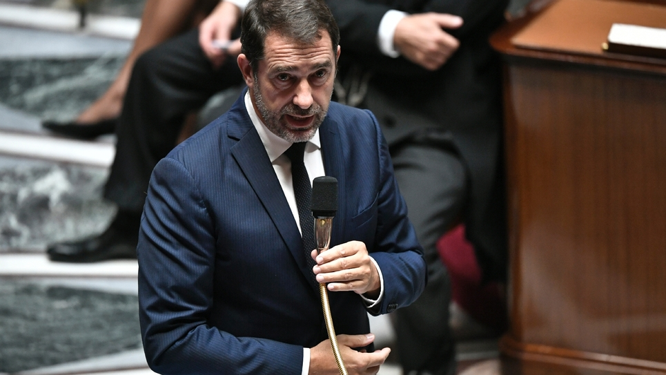 Le ministre de l'Intérieur Christophe Castaner, à l'Assemblée nationale, le 1er octobre 2019