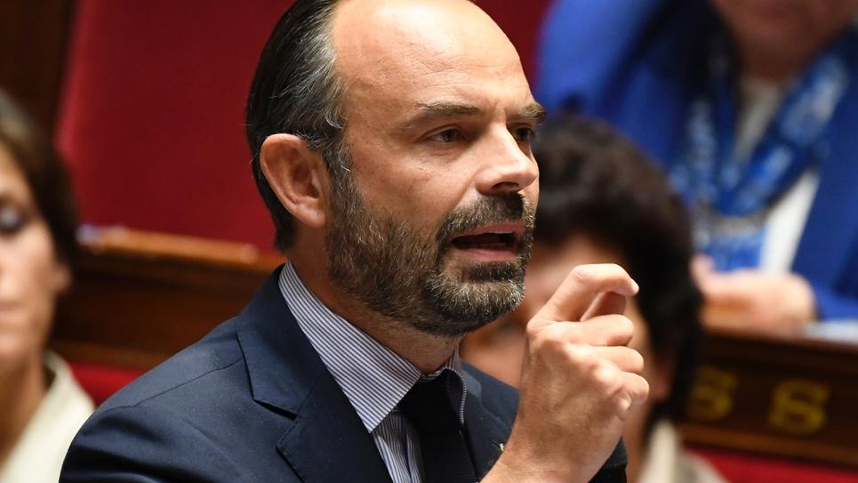 Le Premier ministre Edouard Philippe le 24 octobre 2018 à l'Assemblée nationale à Paris