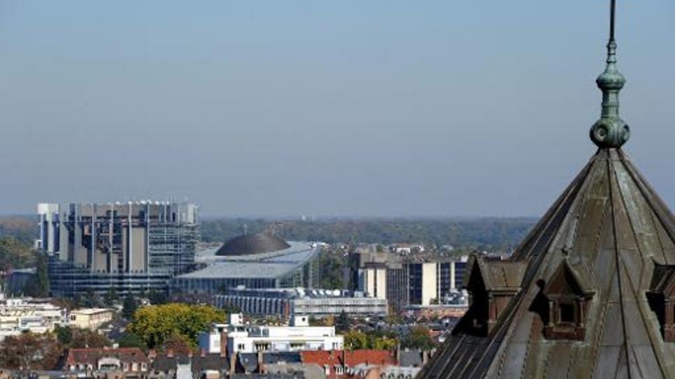 Vue de Strasbourg, le 15 octobre 2011