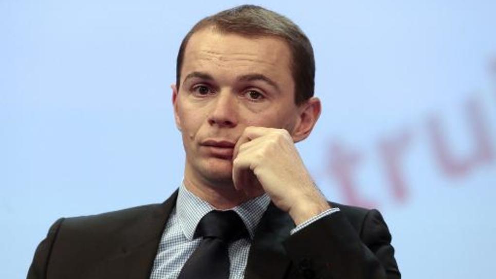 Le député-maire d'Annonay Olivier Dussopt à Paris, le 20 novembre 2013