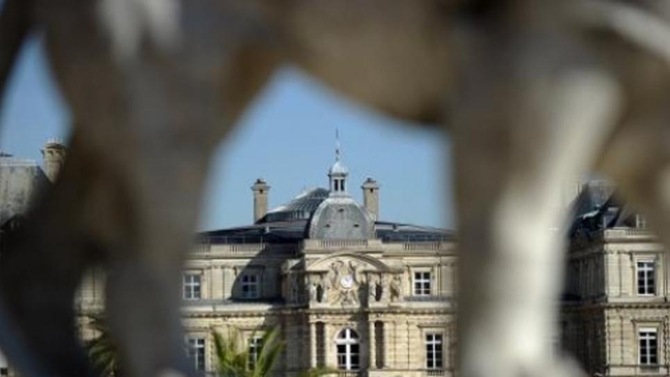 Le Palais du Luxembourg, siège du Sénat, photographié à Paris le 27 septembre 2014
