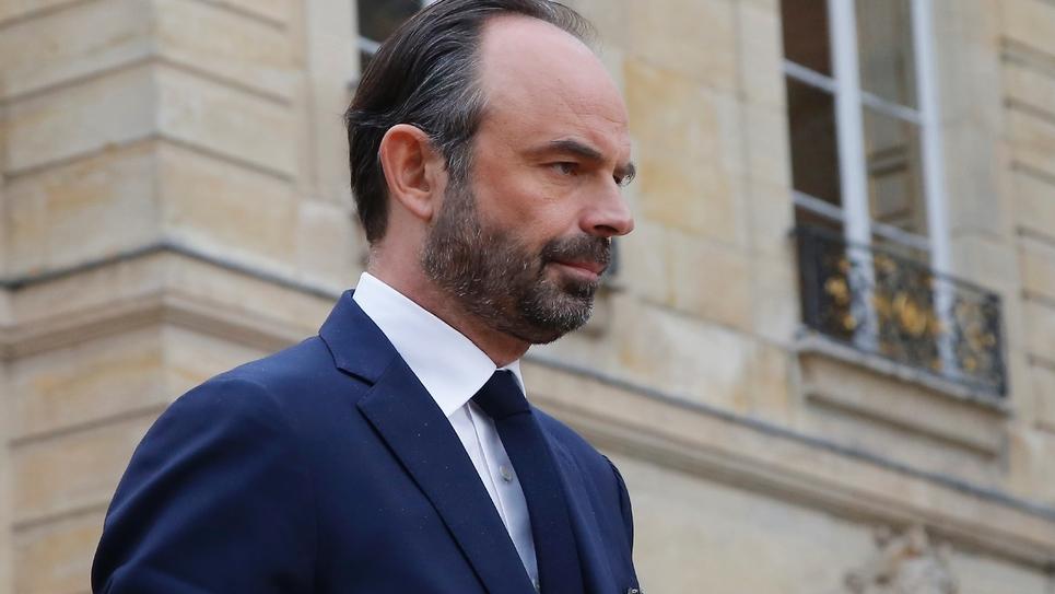 Edouard Philippe à Matignon, le 20 mars 2018