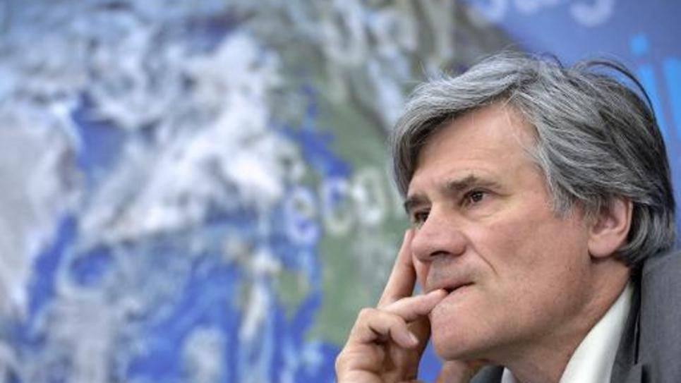 Le ministre de l'Agriculture Stéphane Le Foll le 14 avril 2015 à Paris