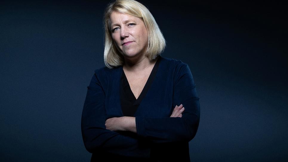 La conseillère LFI de Paris Danielle Simonnet, le 7 octobre 2019 à Paris