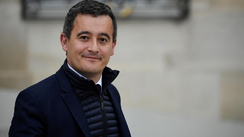 Le ministre des Comptes publics, Gérald Darmanin, à la sortie du Conseil des ministres, le 24 octobre à Paris