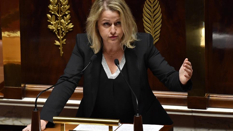Barbara Pompili en mai 2018 à l'Assemblée nationale