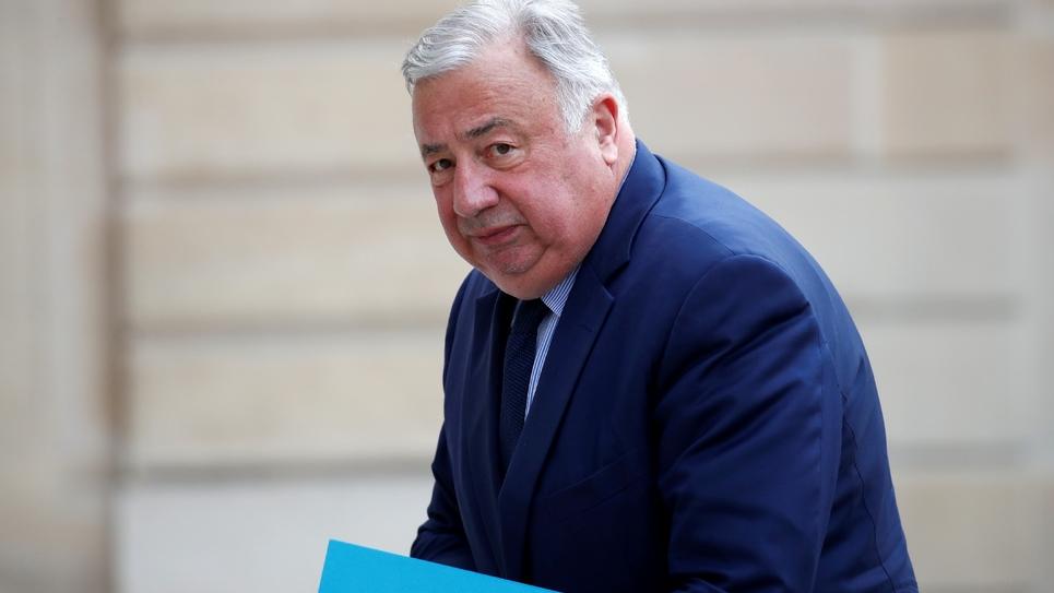 Le président du Sénat Gérard Larcher, le 3 juin 2020 à Paris