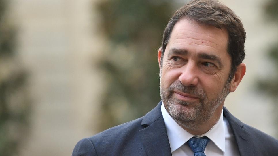Le ministre de l'Intérieur Christophe Castaner à Matignon, le 25 novembre 2019