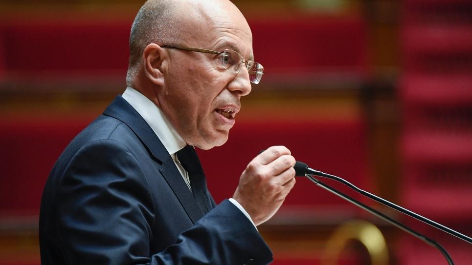 Le député LR Eric Ciotti à l'Assemblée nationale le 5 février 2019 à Paris