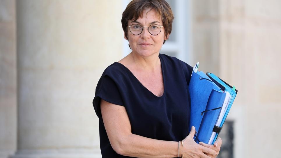 La ministre des Outre-mer Annick Girardin le 24 juillet 2019 à Paris