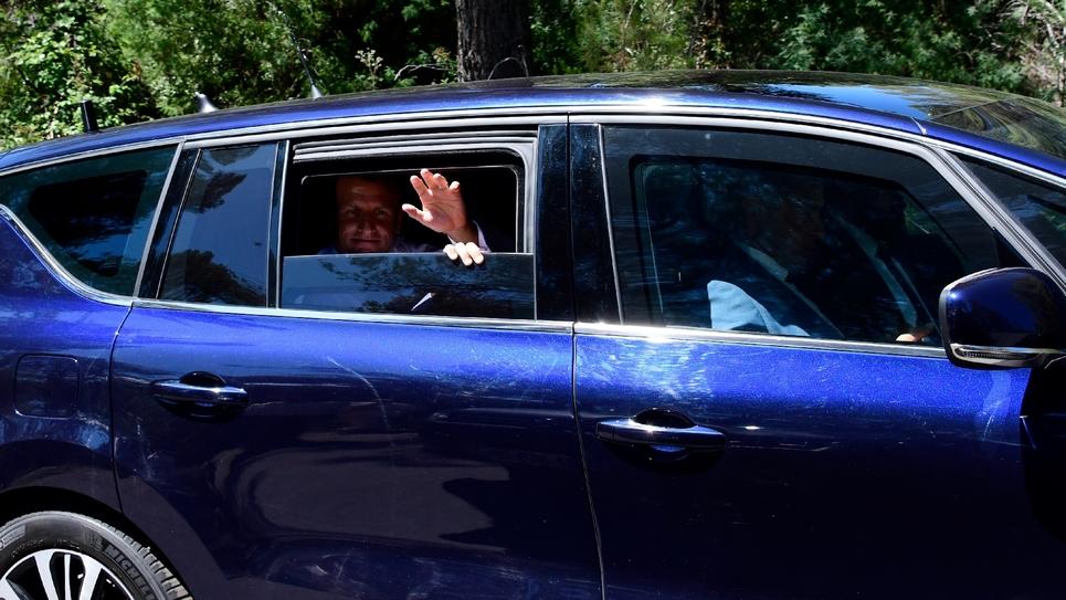 Le président Emmanuel Macron le 15 août 2019 à Saint-Raphaël