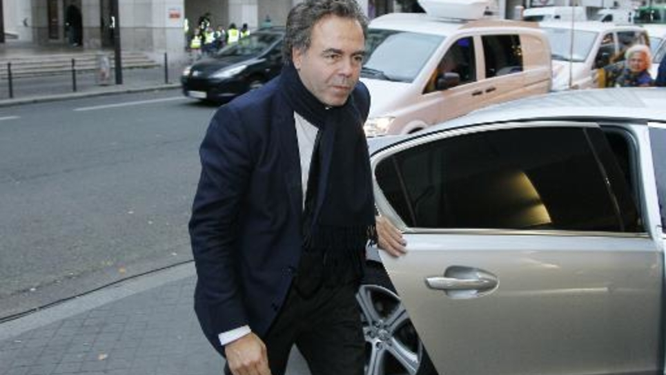 Luc Chatel à Paris le 2 décembre 2014