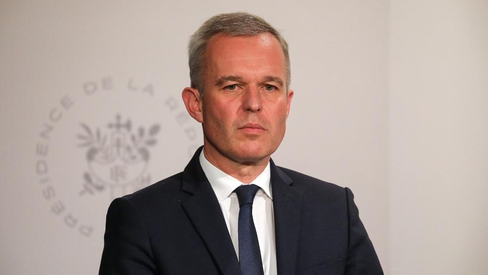 Le ministre de l'Environnement François de Rugy, le 10 juillet 2019 à l'Elysée, à Paris