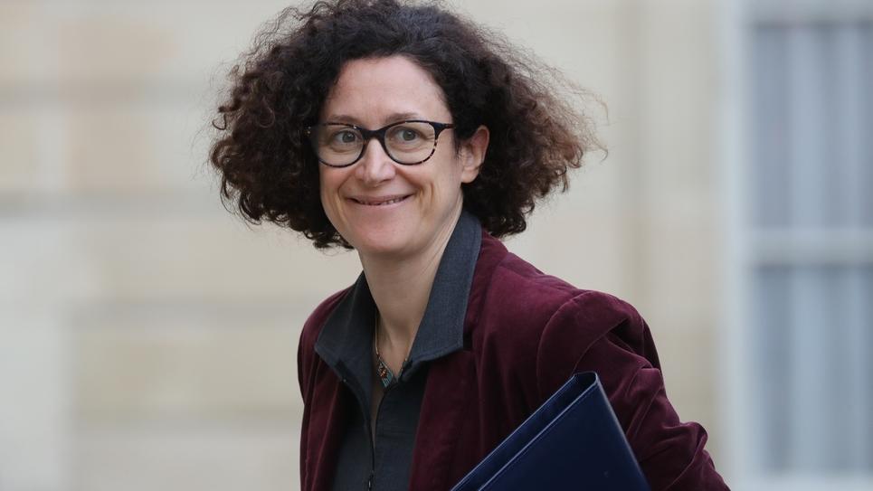 Emmanuelle Wargon à l'Elysée à Paris, le 15 janvier 2020