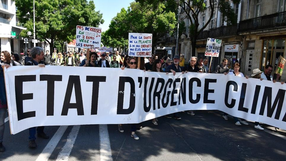 Manifestation pour l'Etat d'urgence climatique, le 1er mai 2019 à Bordeaux