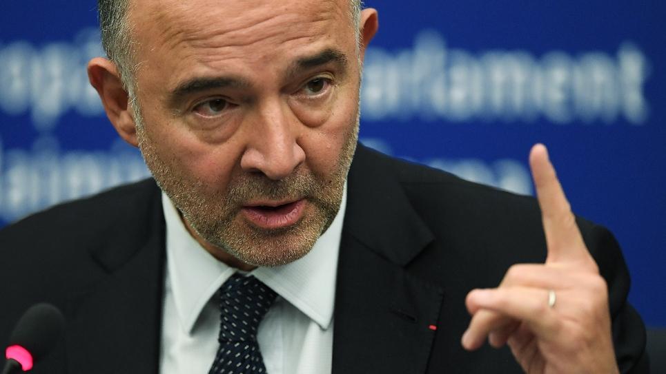 Pierre Moscovici le 23 octobre 2018 à Strasbourg, le 23 octobre 2018