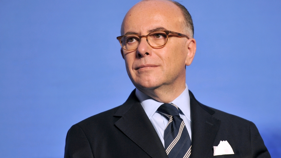 Bernard Cazeneuve, le 2 janvier 2017 à Orléans