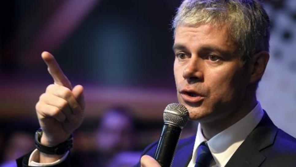 Laurent Wauquiez le 15 janvier 2015 à Lyon