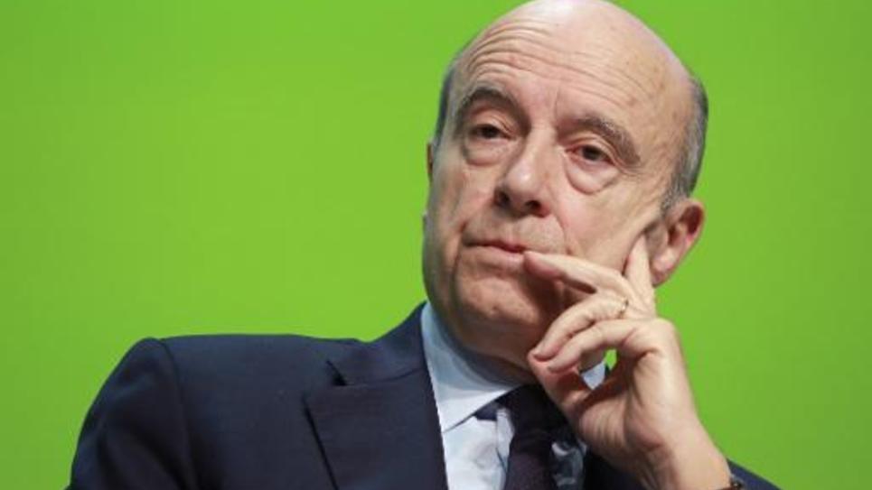 Le maire de Bordeaux Alain Juppé aux Assises de l'energie des collectivites territoriales, le 29 janvier 2015 à Bordeaux
