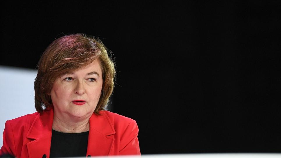 La tête de liste de la majorité présidentielle aux européennes, Nathalie Loiseau, le 11 avril 2019, à Paris