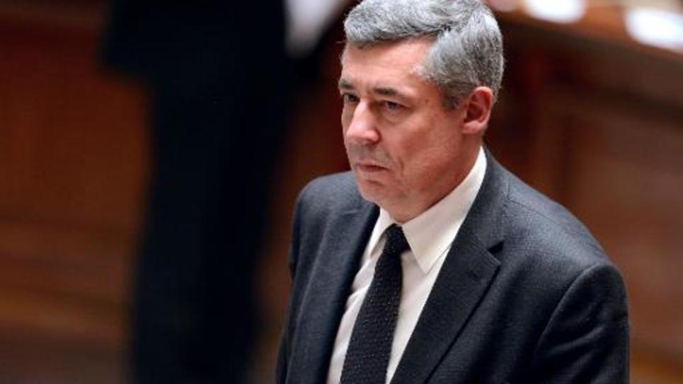 Le député UMP Henri Guaino, le 26 mars 2013 à l'Assemblée nationale