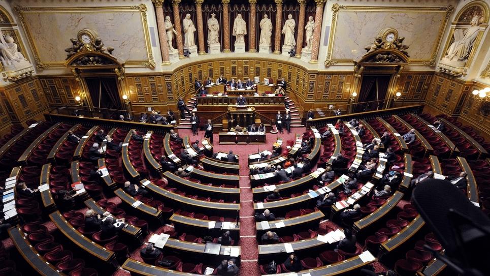 L'hémicycle du Sénat en janvier 2012