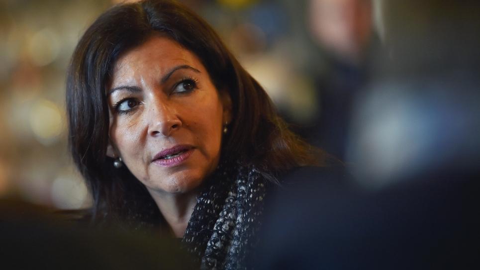 La maire socialiste de Paris Anne Hidalgo, le 19 décembre 2017 à La Roche-sur-Yon, en Vendée