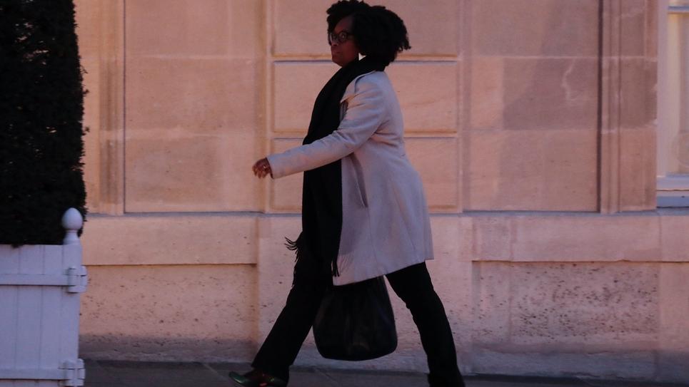 Sibeth Ndiaye quitte l'Elysée, le 19 février 2019