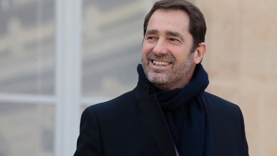 Le ministre de l'Intérieur Christophe Castaner, le 20 février 2019 à L'Elysée