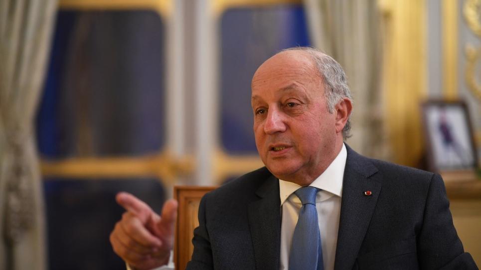 Le président du Conseil constitutionnel Laurent Fabius le 4 janvier 2019 à Paris