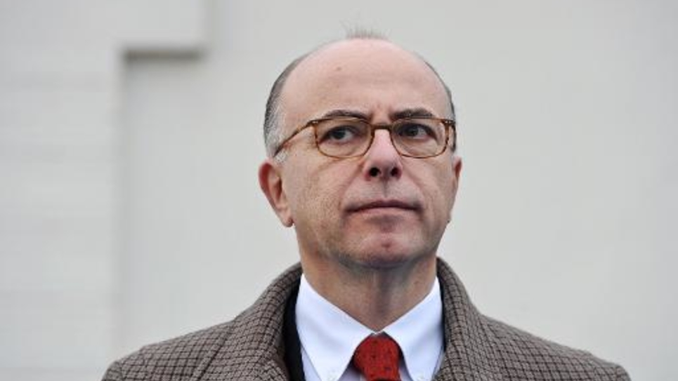 Le ministre de l'Intérieur Bernard Cazeneuve le 29 novembre 2014 à La Rochelle