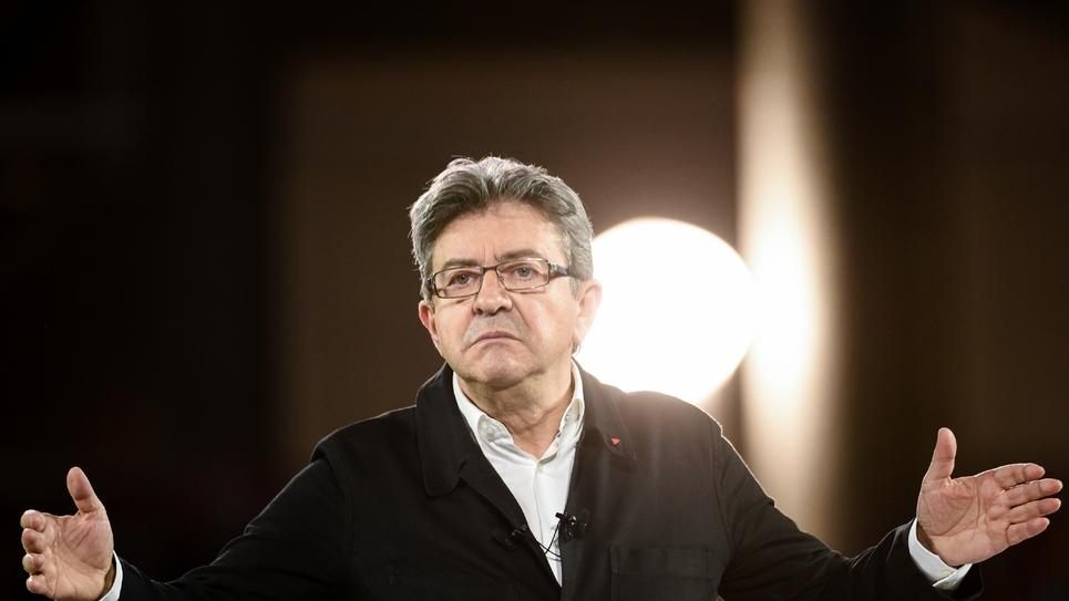 Jean-Luc Mélenchon à Lille le 12 avril 2017