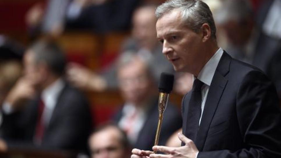 Le député UMP Bruno Le Maire, le 14 octobre 2014 à l'Assemblée nationale, à Paris
