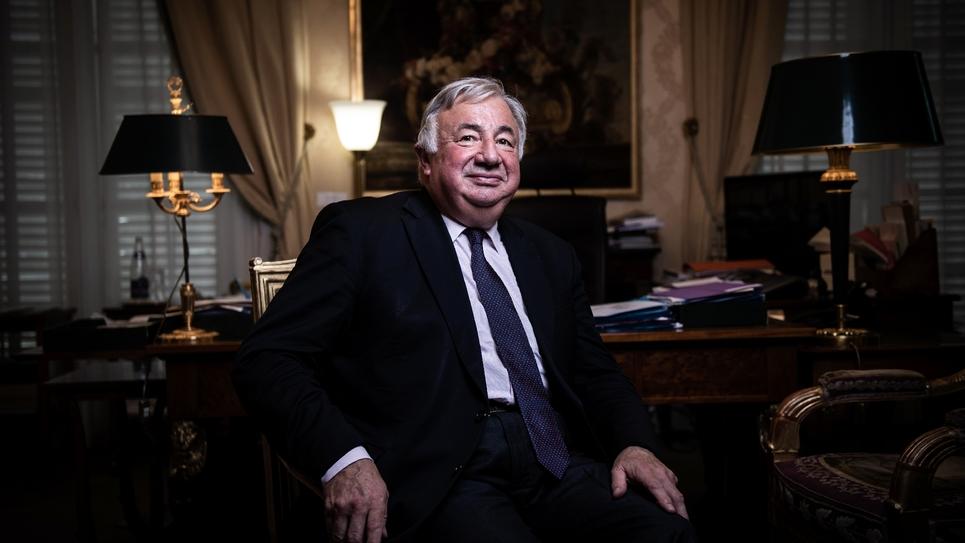Gérard Larcher le 24 juillet 2019 à Paris