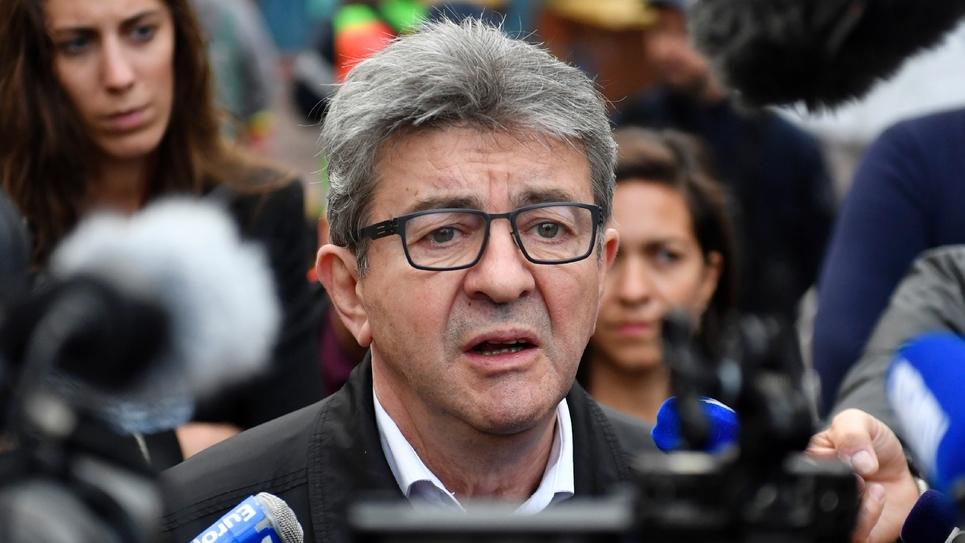 Le chef de file des Insoumis Jean-Luc Mélenchon le 5 novembre 2018 à Marseille