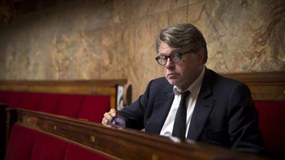 Gilbert Collard à l'Assemblée nationale le 9 septembre 2014