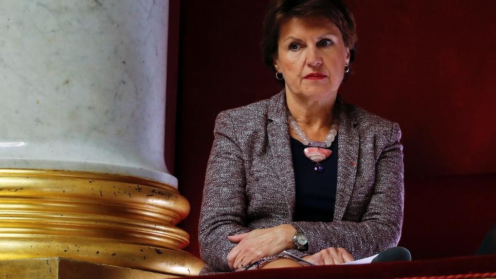 Annie Genevard en novembre 2017 à l'Assemblée nationale