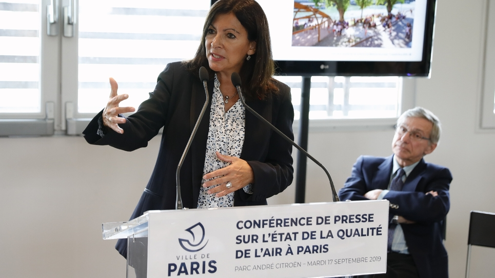 Anne Hidalgo le 17 septembre 2019 à Paris