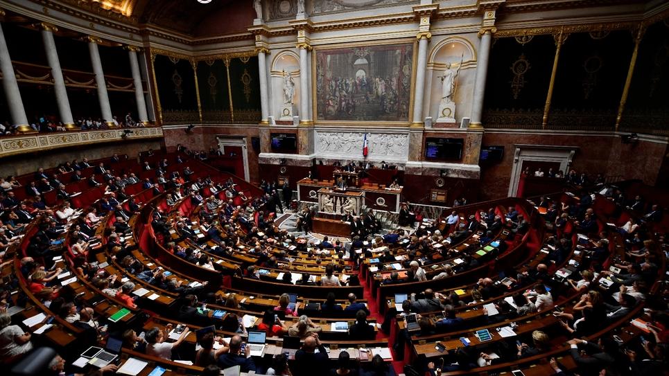L'Assemblée nationale, située à Paris, le 31 juillet 2018
