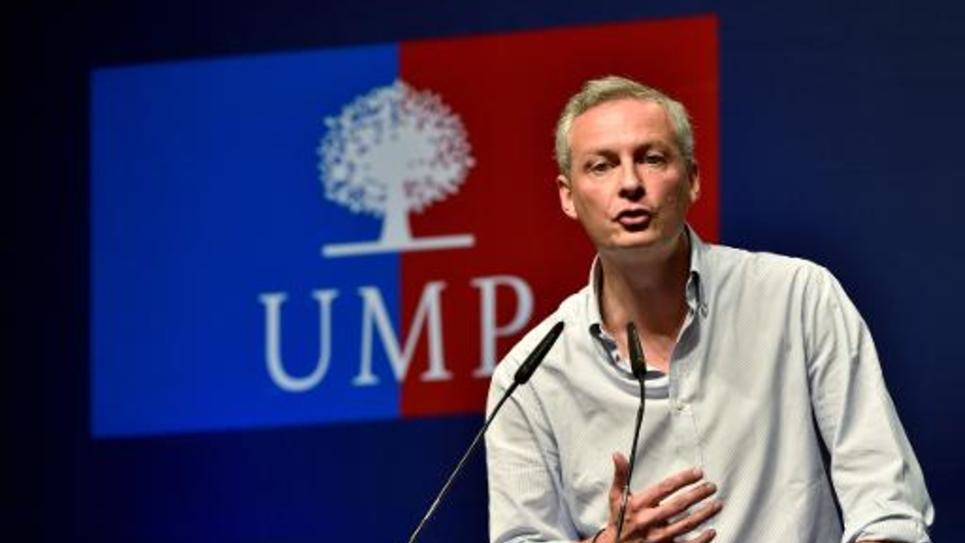 Bruno Le Maire le 30 août 2014 au Touquet