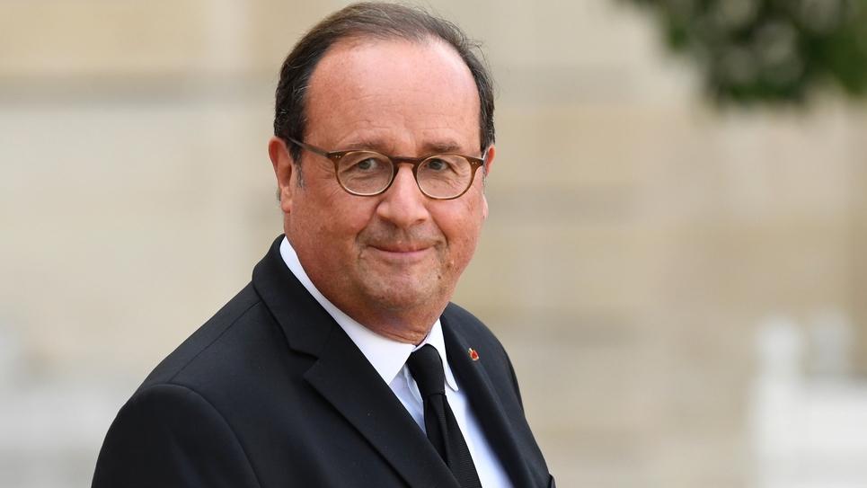 L'ancien président de la République française François Hollande, le 30 septembre 2019 à Paris