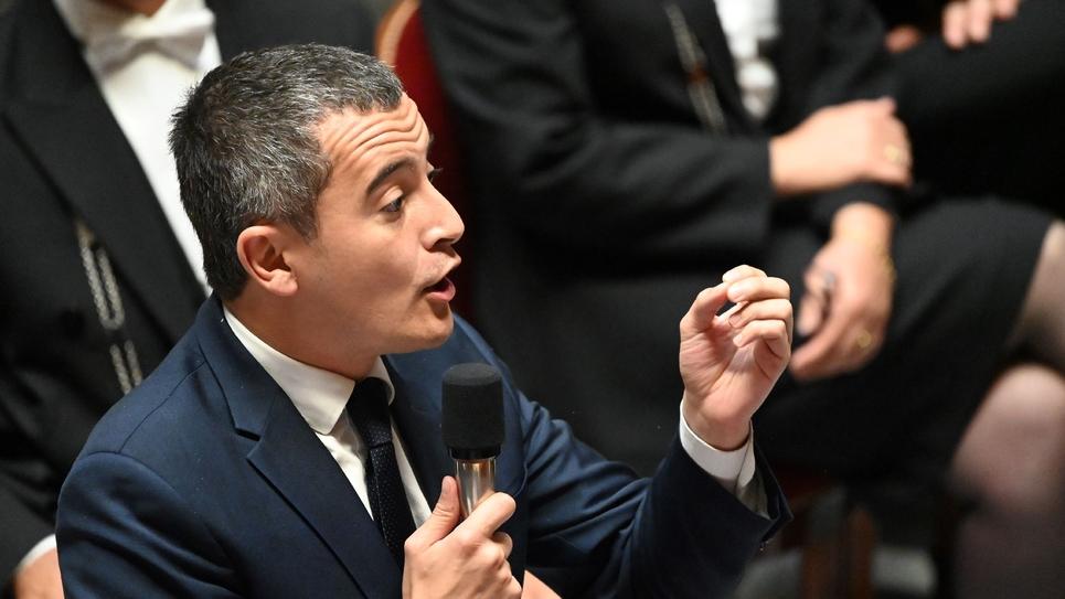 Le ministre de l'Action et des Comptes publics Gérald Darmanin à l'Assemblée nationale à Paris le 17 septembre 2019