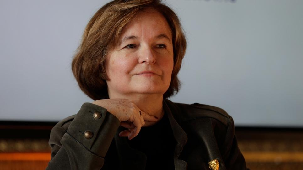 La ministre des Affaires européennes Nathalie Loiseau, à Versailles, le 21 janvier 2019