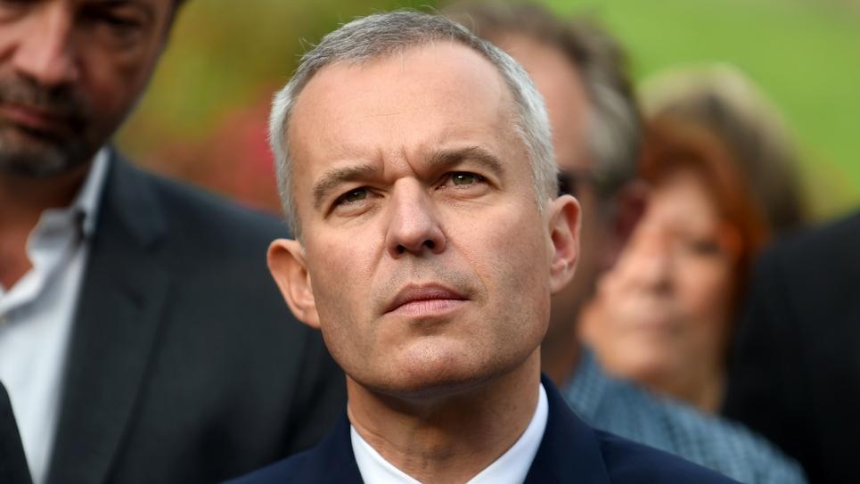Le nouveau ministre de la Transition écologique François de Rugy lors d'une visite à Rosny-Sous-Bois en région parisienne, le 10 septembre 2018