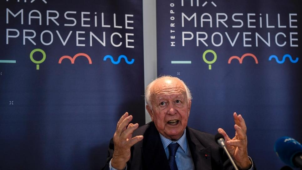 Jean-Claude Gaudin, 76 ans, démissionnaire de la présidence de la métropole Aix-Marseille-Provence