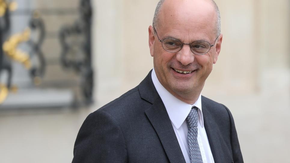 Jean-Michel Blanquer le 4 septembre 2019 à l'Elysée