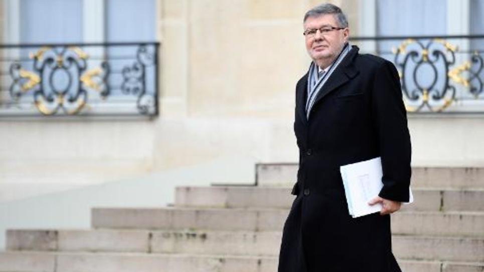 Le secrétaire d'Etat aux Transports, Alain Vidalies, le 10 décembre 2014 à l'Elysée