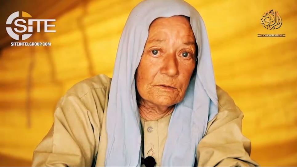 Sophie Pétronin, otage au Mali, photo du 13 juin 2018